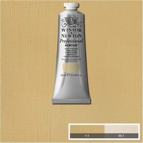 Winsor and Newton Professional Acrylic Paint 60ml Tubes